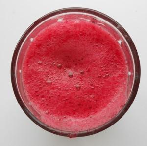 beet juice smoothie