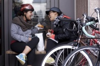 Cyclists in Washington, DC