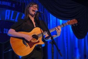 Lisa Loeb in concert. Photo Credit: Lee Klawans